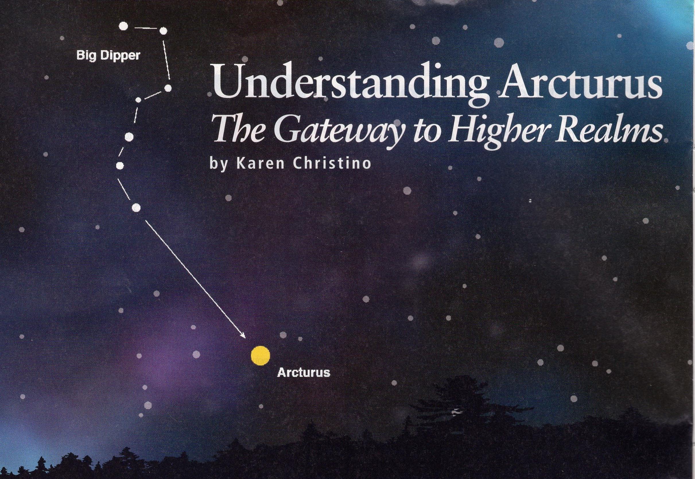 Understanding Arcturus Karen Christino